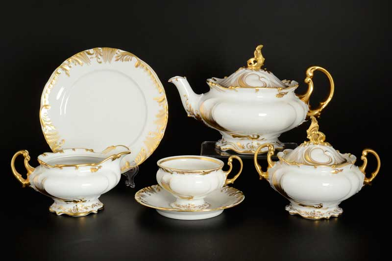 Чайный сервиз на 6 персон 23 предмета THUN