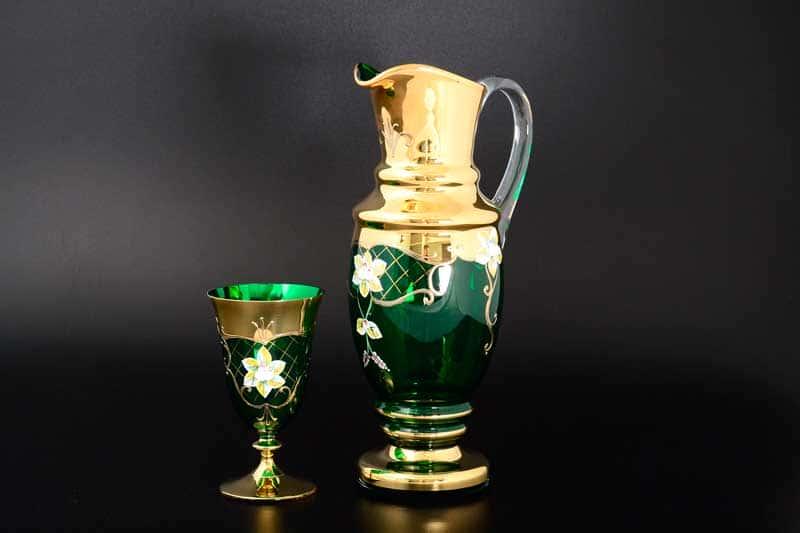 Лепка зеленая Набор для воды Bohemia 7 пр