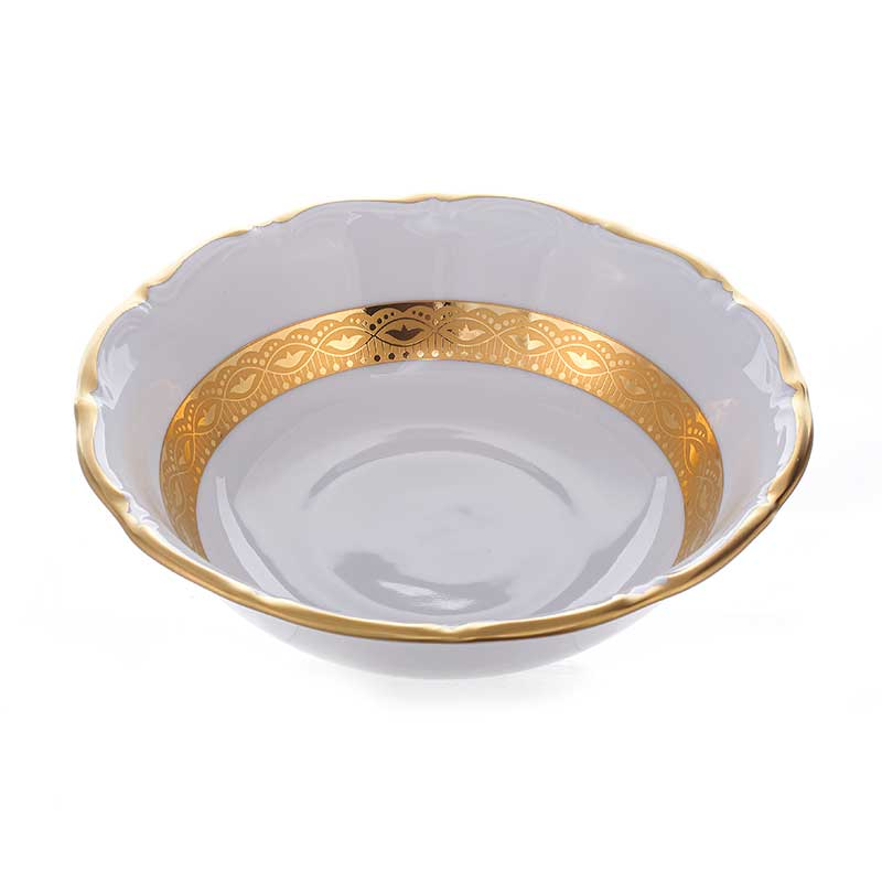 Лента золотая Набор розеток 8 см 6 шт. Bavarian Porcelain