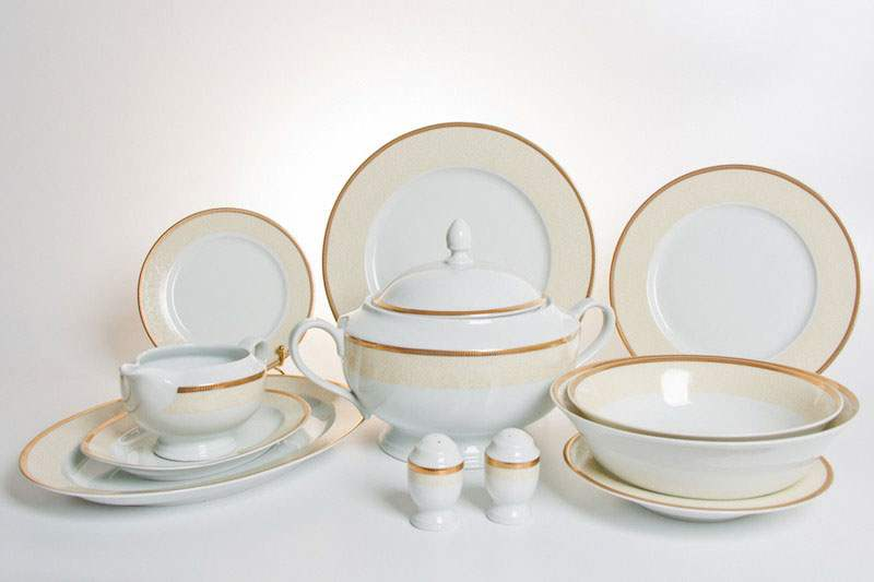 Кристина Сервиз столовый Thun на 6 персон 28 предметов