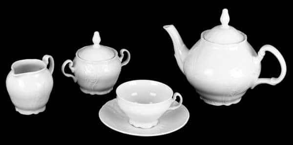 Бернадот Ресторанный 0000 Чайный сервиз Thun 15 предметов