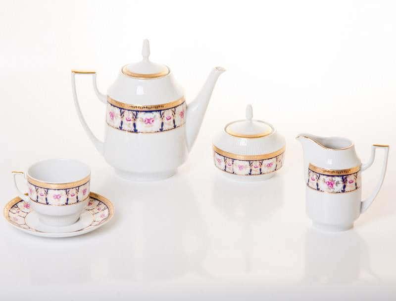 Мария - Луиза Чайный сервиз Thun на 6 персон 15 предметов