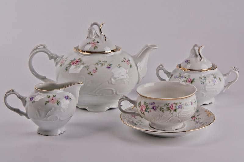 Тулип Чайный сервиз Thun на 6 персон 15 предметов