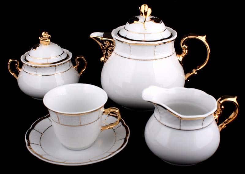 Менуэт Чайный сервиз Thun на 6 персон 15 предметов