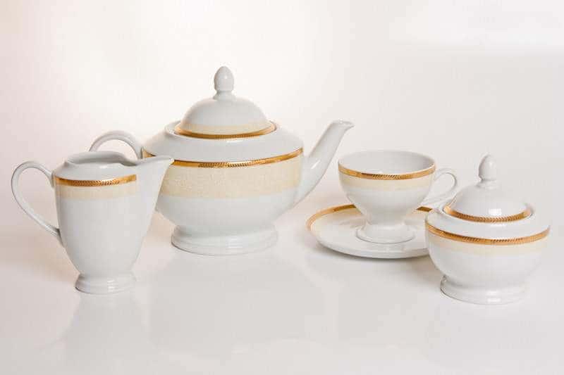Кристина Чайный сервиз Thun на 6 персон 15 предметов