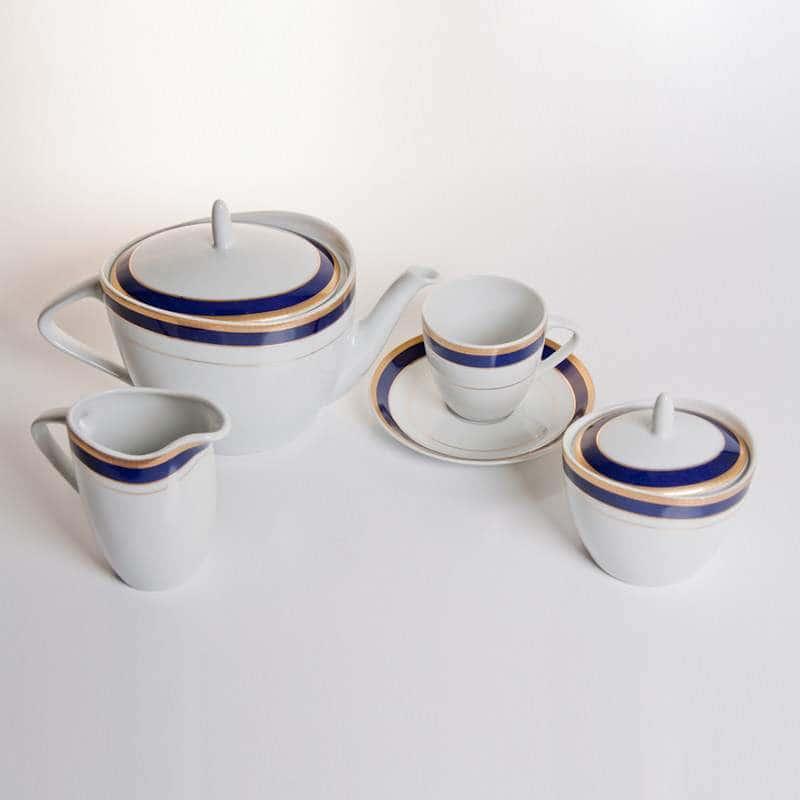 Силвие Чайный сервиз Thun на 6 персон 15 предметов