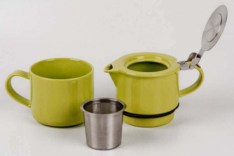 Ланглоис Чайный набор керамический Olivier Langlois 2 предмета