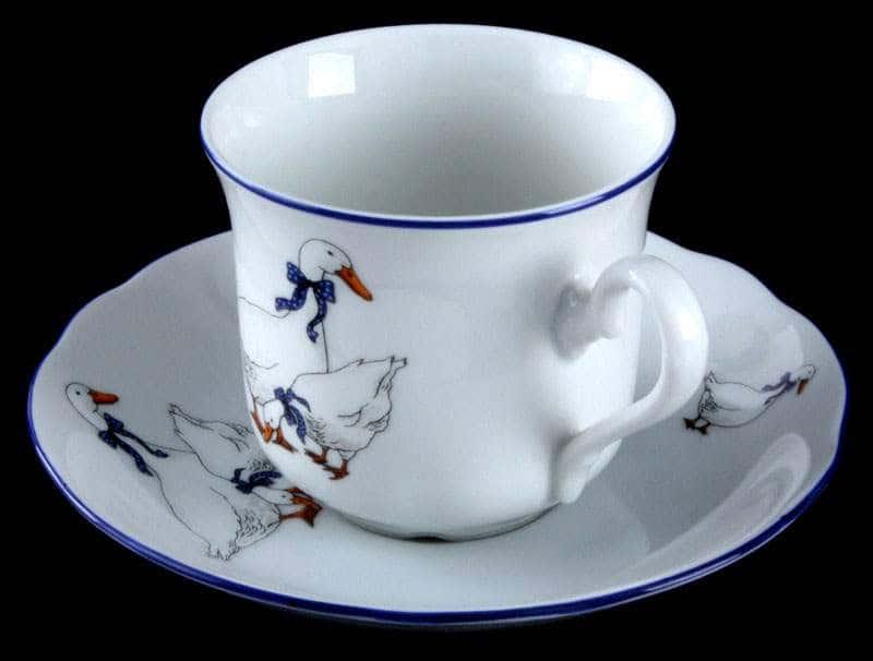Мэри Энн Гуси Набор чайный Leander на 6 персон 12 предметов 31335