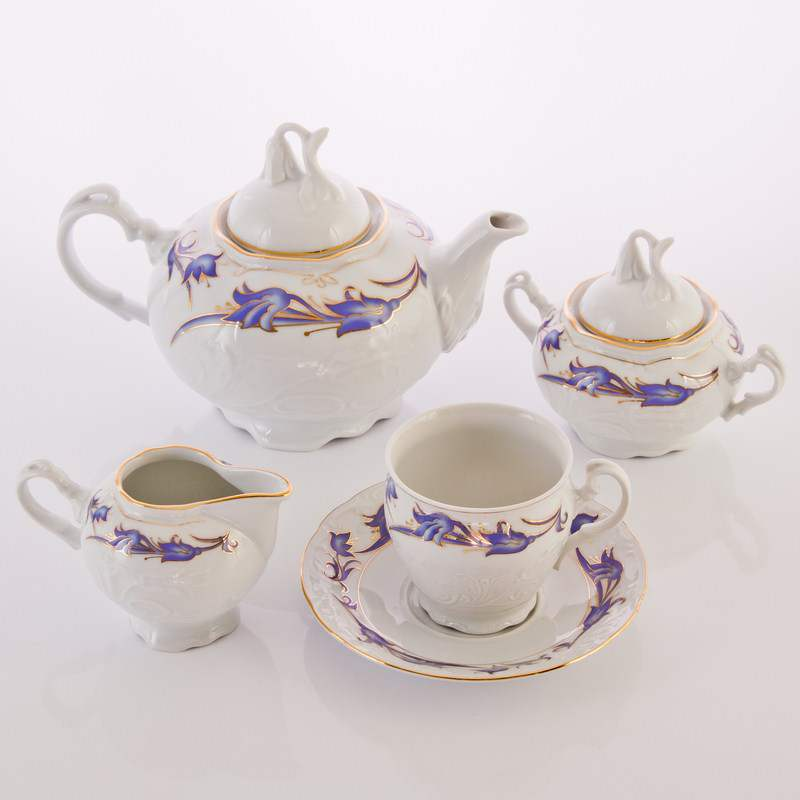 Тулип 62700 Чайный сервиз Thun 15 предметов