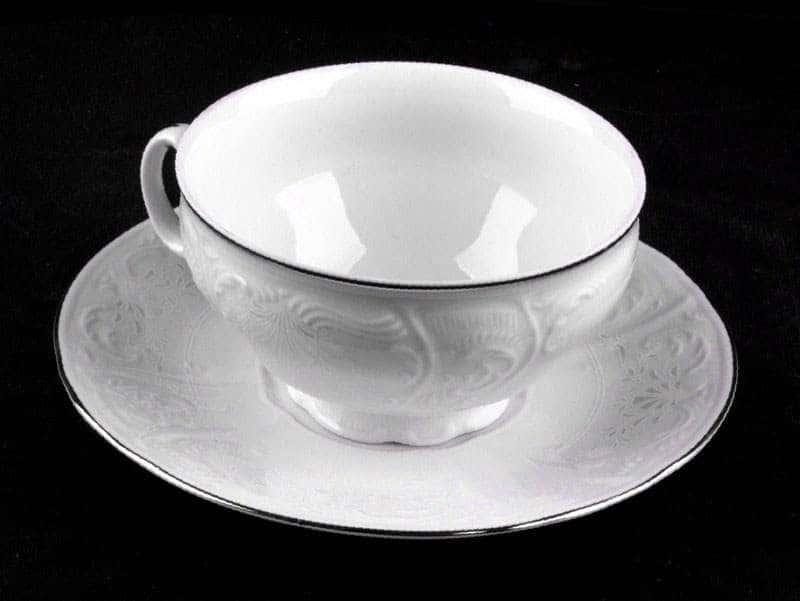 Бернадот Платина 2021 Набор для чая на 6 персон 12 предметов