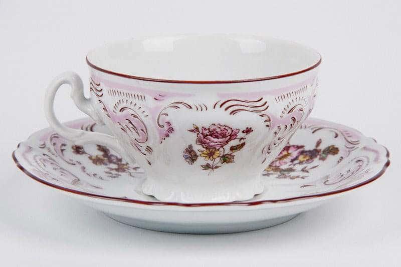 Бернадот 5058 Набор для чая (чашка и блюдце) на 6 персон