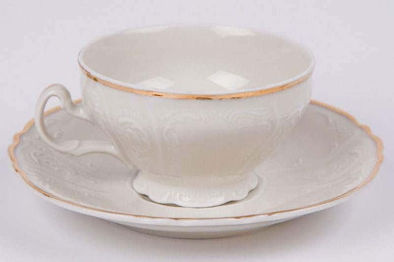 Бернадот Ивори Набор для чая (чашка и блюдце) на 6 персон