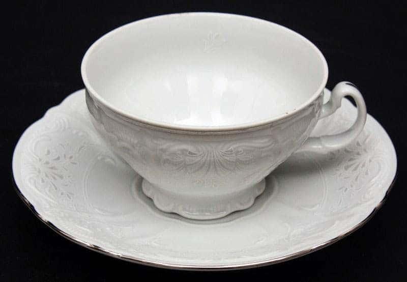 Бернадот платина 2021 Набор для чая на 6 персон 12 предметов 155 мл