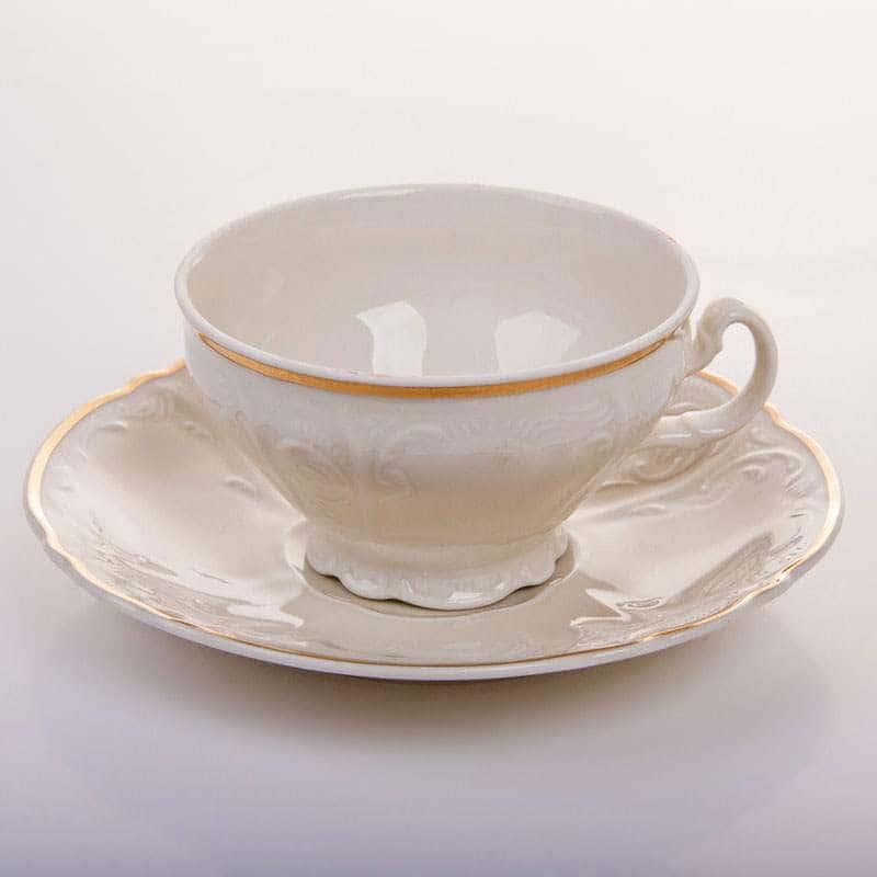 Бернадот  Ивори Набор для чая на 6 персон 12 предметов