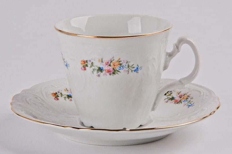 Бернадот 03011 Чайные чашки с блюдцами на 6 персон 12 предметов
