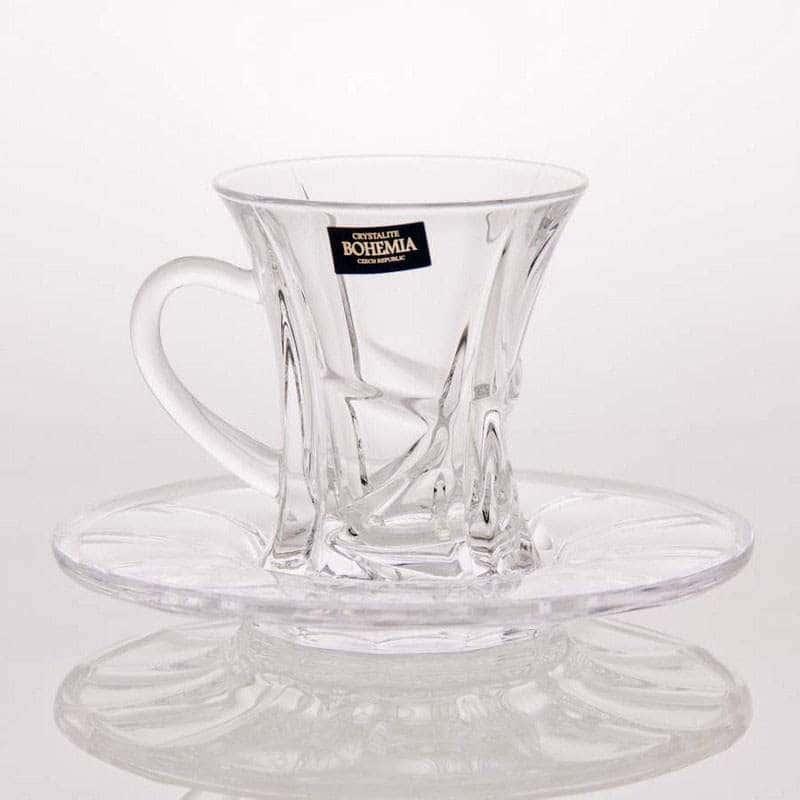 Ахмади Набор чайный на 6 персон 12 предметов Кристалайт 99P62