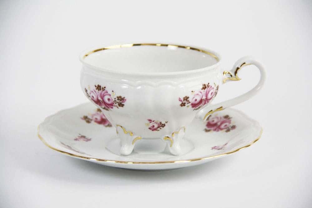 Роза Шато Набор чайный Weimar 210 мл на 6 персон 12 предметов