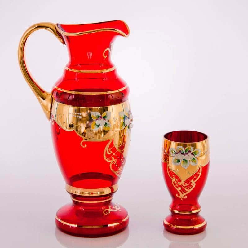 Арабский, Лепка красная Набор для воды Bohemia