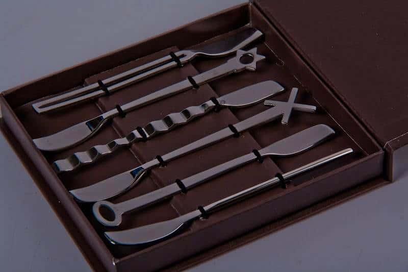 Набор столовых приборов Самбонет  6 предметов из нержавеющей стали