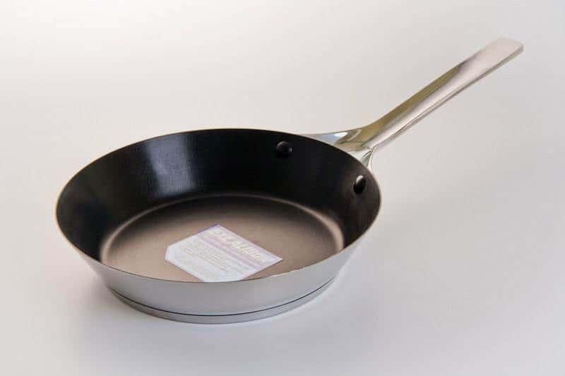 Сковорода Sambonet из нержавеющей стали с антипригарным прокрытием 24 см