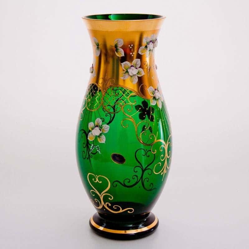 Цветочница Лепка зеленая 35 см