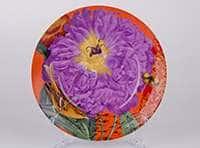 Фиолетовый цветок Тарелка из керамики Waechtersbach  21 см