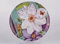 Белый цветок Тарелка из керамики Waechtersbach 21 см